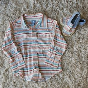 2 items - Size 7 toddler gap slip on and button up